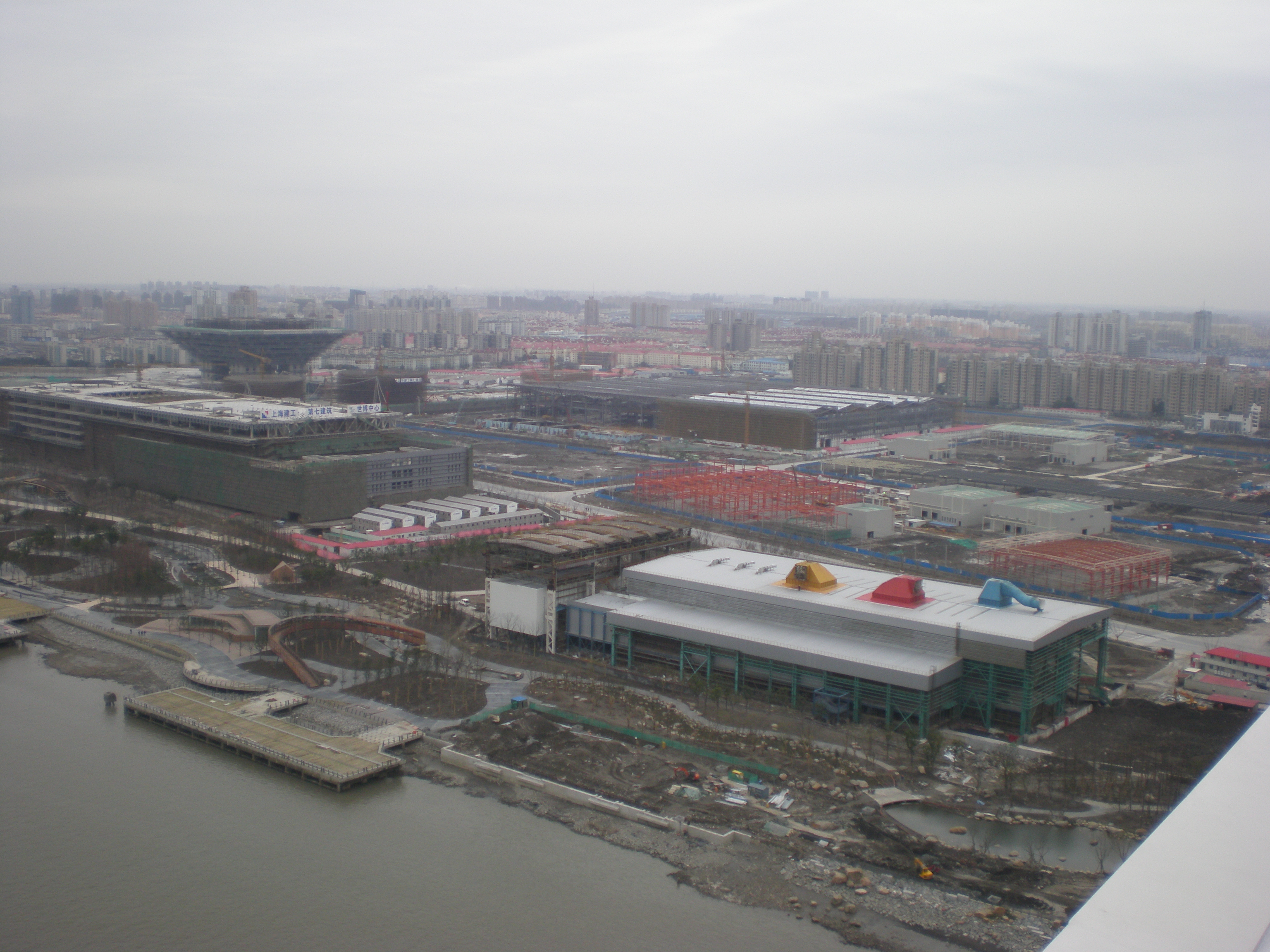 上海万博海上予定地
