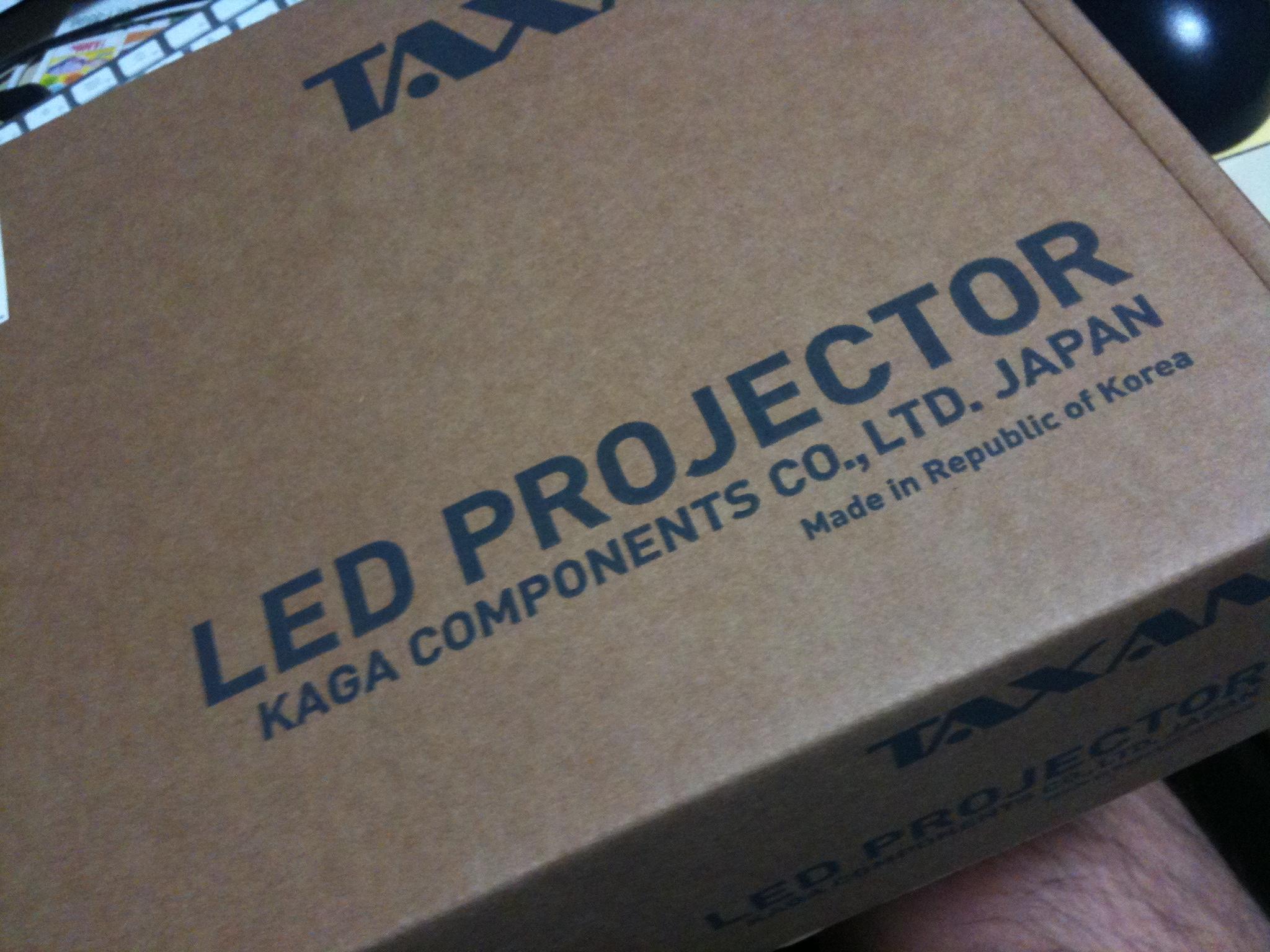 KG-PL105S - 包装の段ボール。本体は韓国製らしい。KG